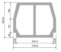 TERIVA 6.0, 8.0 (II, III) pustaki stropowe